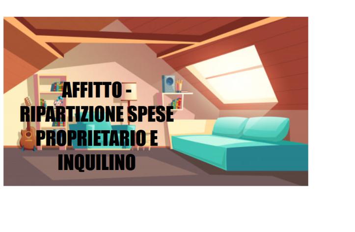 AFFITTO-RIPARTIZIONE-SPESE
